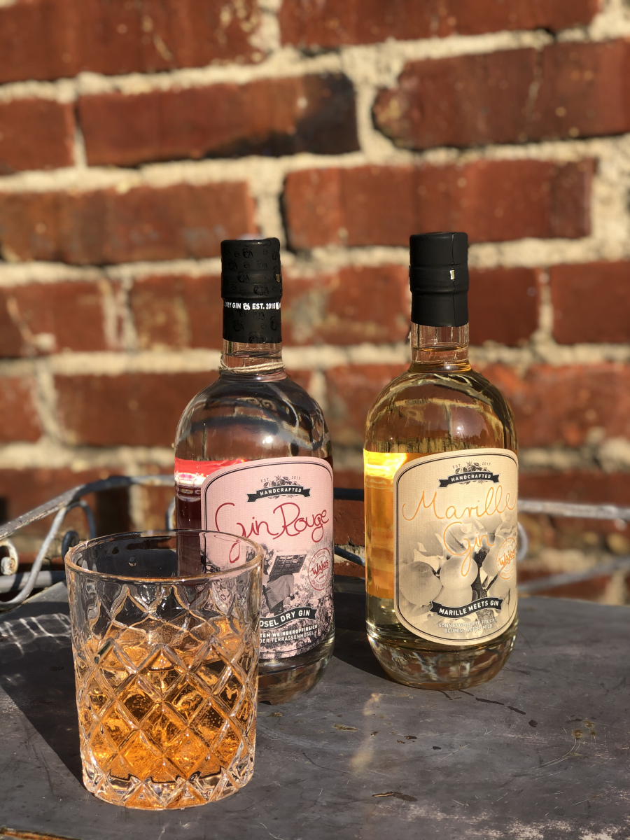 Gin Rouge und Marillengin